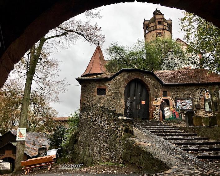 Burg Ronneburg zum Innenhof Deutschland