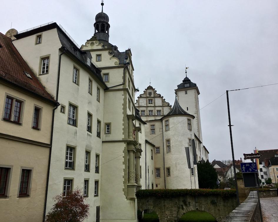 Deutschordenschloss Bad Mergentheim Deutschland