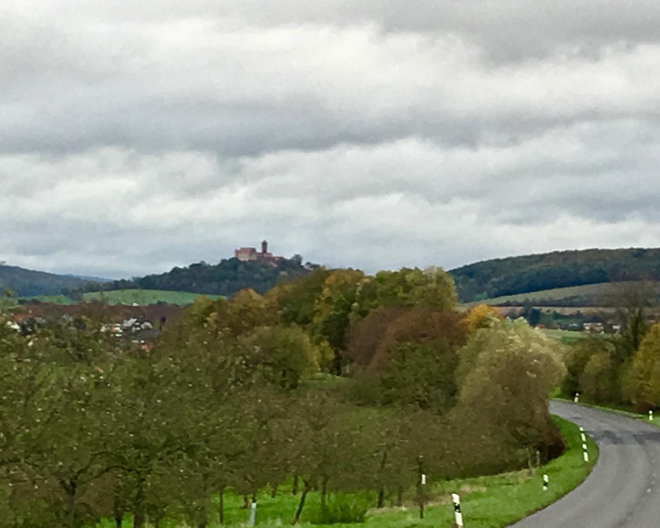 Die Ronneburg bei Hüttengesäß Anfahrt Deutschland