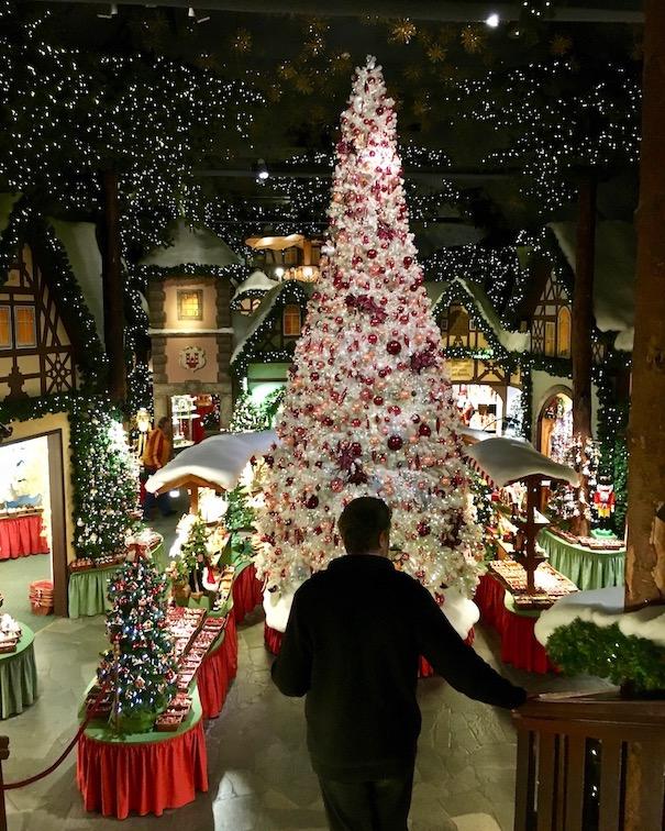 Im Weihnachtsmuseum Rothenburg ob der Tauber Deutschland