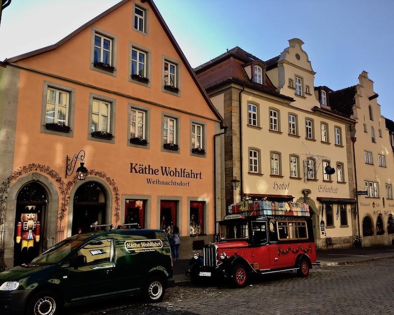 Käthe Wohlfahrt Weihnachtsdorf Rothenburg ob der Tauber Deutschland