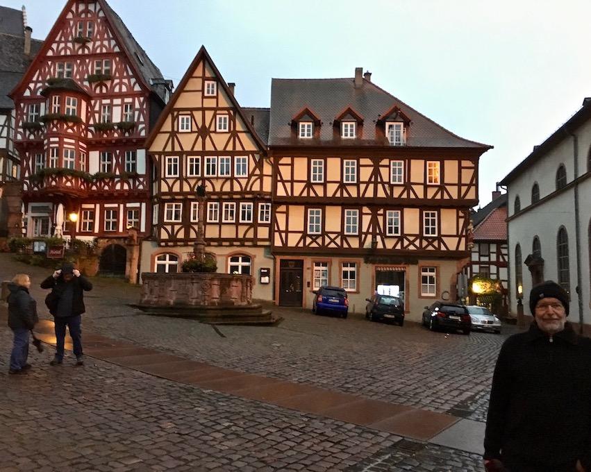 Marktplatz Miltenberg am Main Deutschland