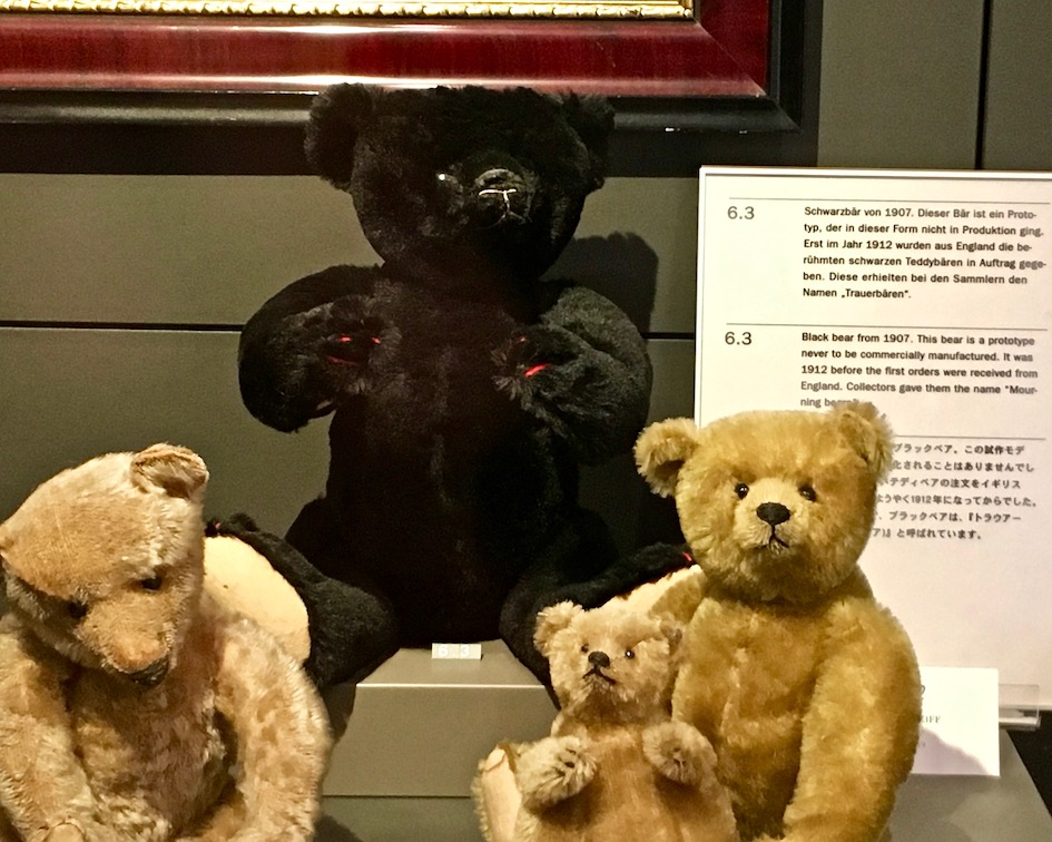 Steiff-Museum Giengen an der Brenz alte Bärenmodelle Deutschland