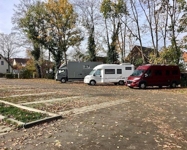 Wohnmobilstellplatz Dinkelsbühl Deutschland