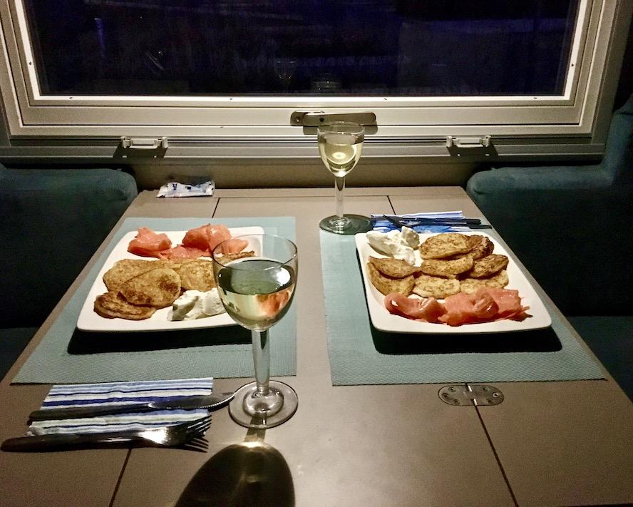 Abendessen im mole-on-tour