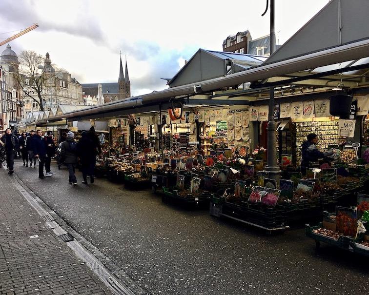 Blumenmarket Amsterdam Niederlande