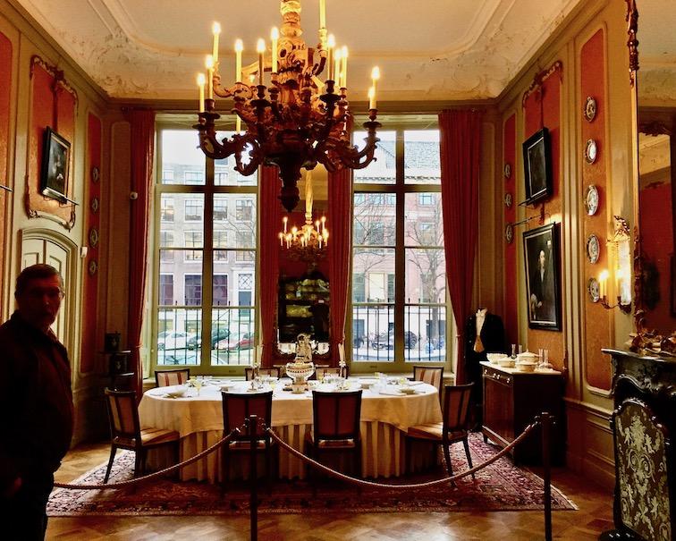 Das Speisezimmer im Van Loon Museum Amsterdam Niederlande