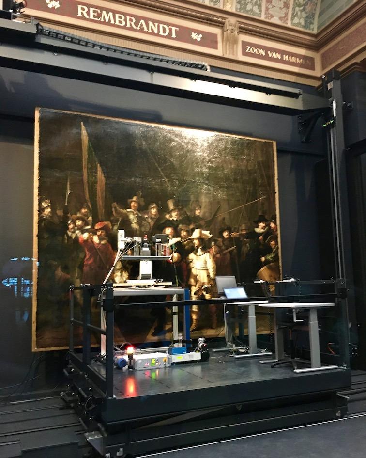 Die-Nachtwache Rijksmuseum Amsterdam Niederlande