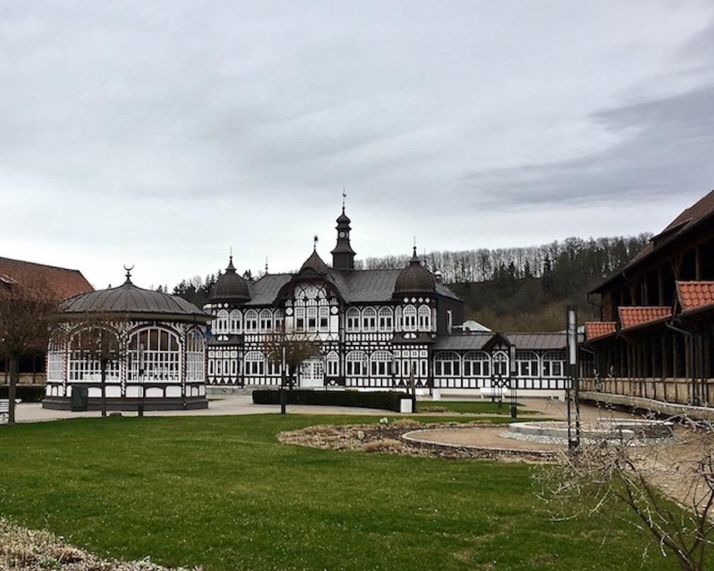 Gradierwerk Bad Salzungen Thüringen Deutschland