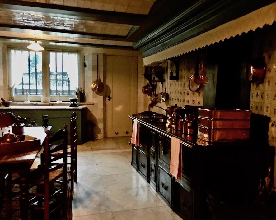Küche im Van Loon Museum Amsterdam Niederlande