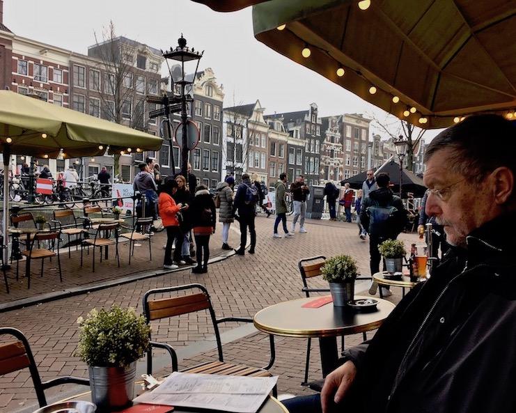 Lokal Trinity an dem Oudezijds Voorburgwal Amsterdam Niderlande