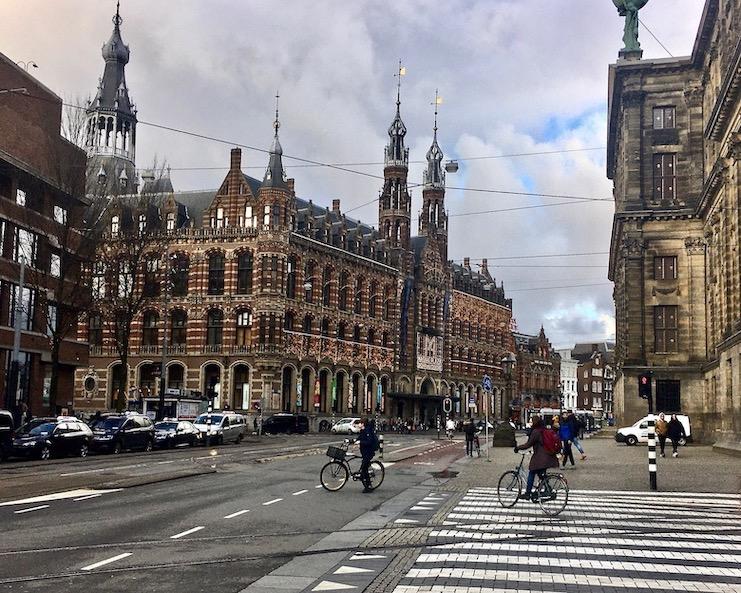 Magna Plaza Shoppingcenter Amsterdam Niederlande