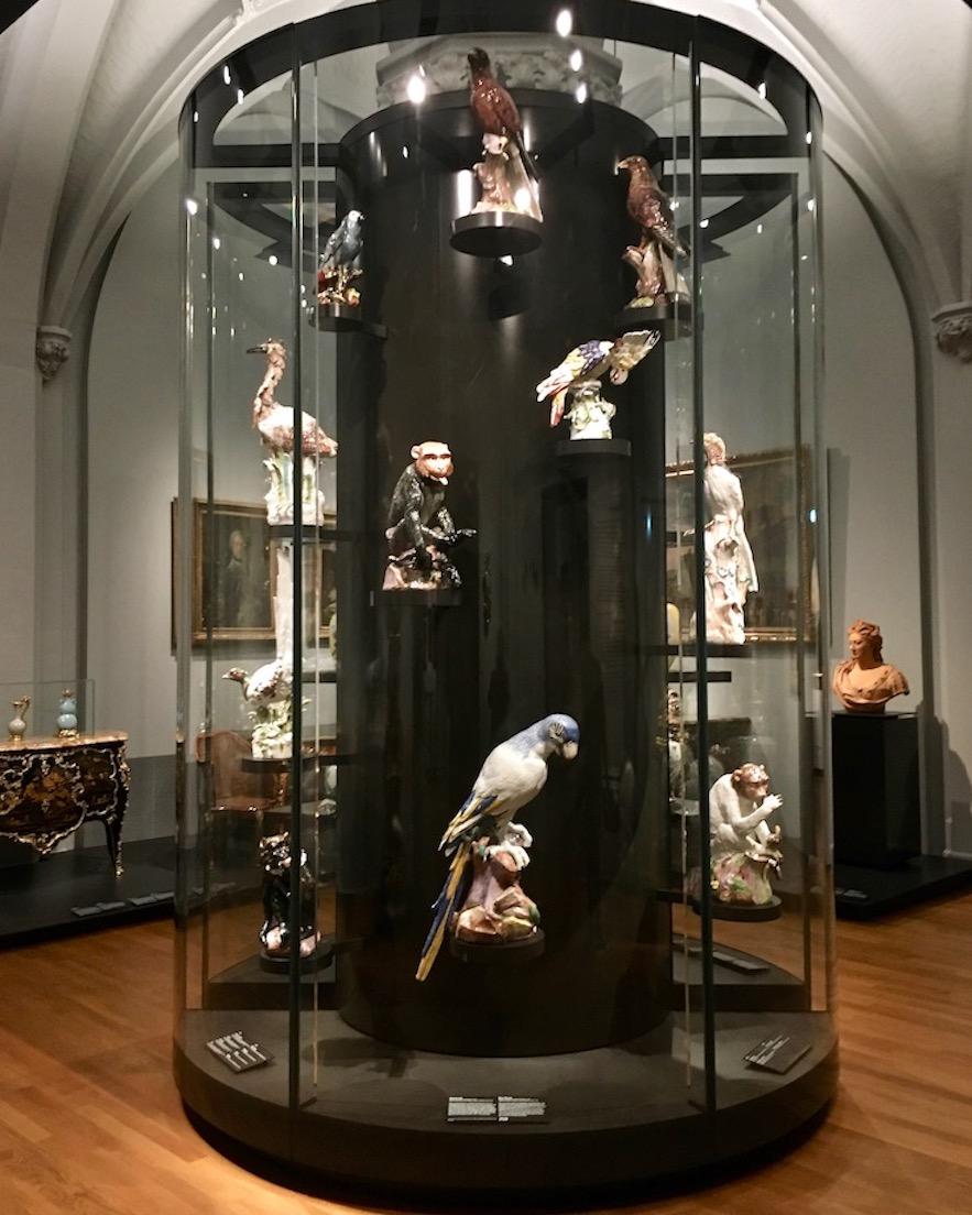 Meisner-Porzellan von Johann Joachim Kändler Rijksmuseum Amsterdam Niederlande