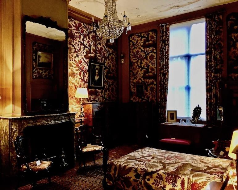 Schlafzimmer im Van Loon Museum Amsterdam Niederlande