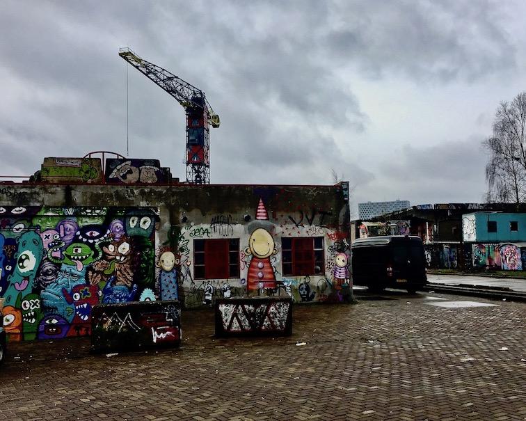 Straßenkunst Amsterdam Niederlande