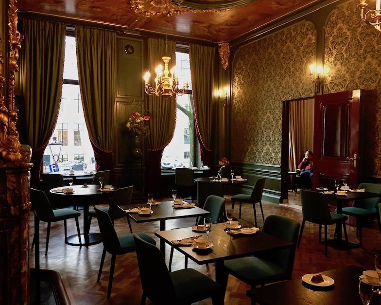 Tassenmuseum Hendrikje Museumskaffee Amsterdam Niederlande