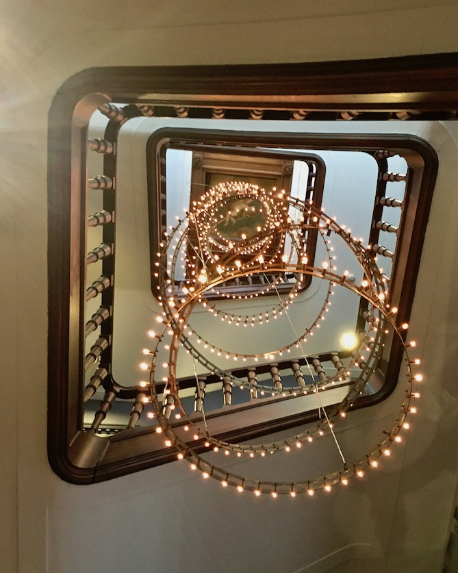 Tassenmuseum Hendrikje Treppenhaus Amsterdam Niederlande