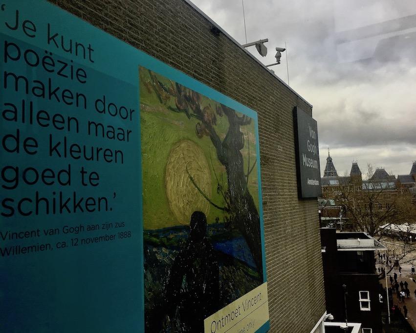 Van-Gogh-Museum Amsterdam Niederlande