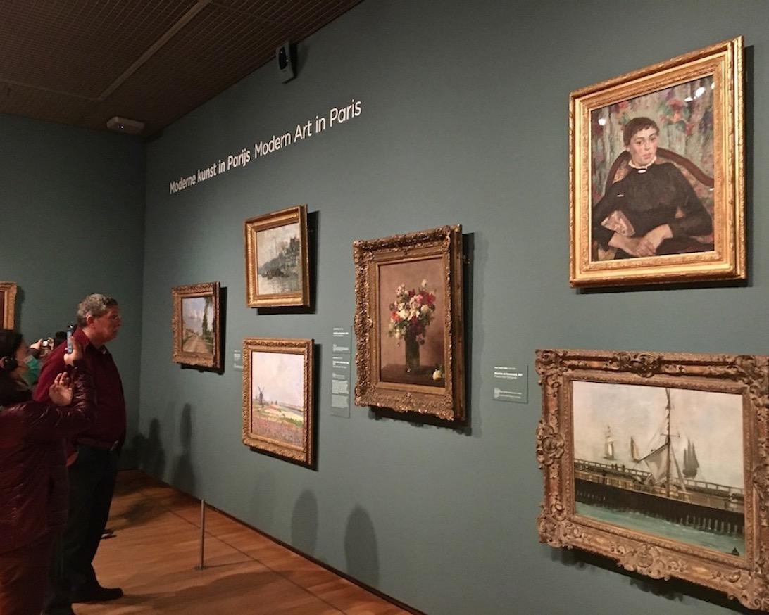Van-Gogh-Museum Ausstellungsräume Amsterdam Niederlande