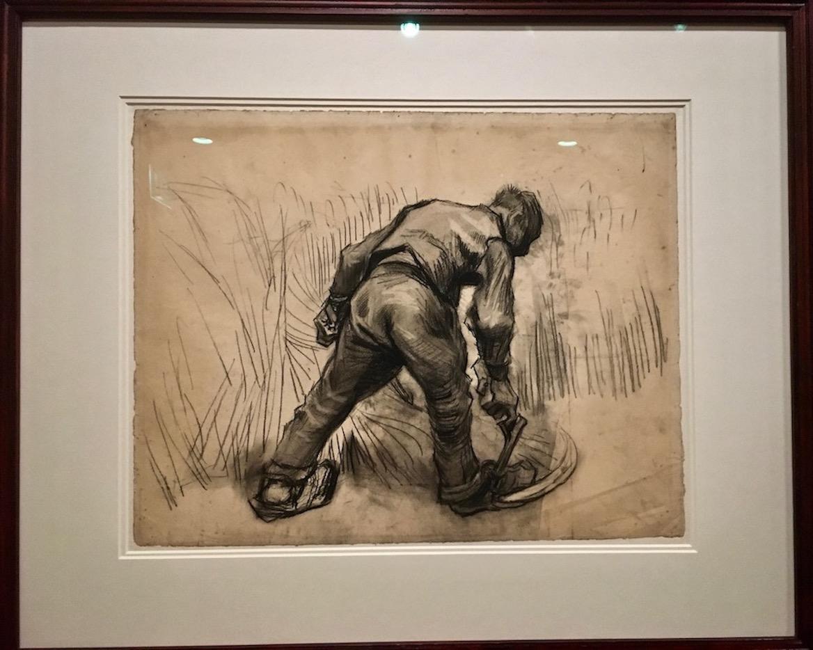 Vincent van Gogh Der Mäher Van-Gogh-Museum Amsterdam Niederlande