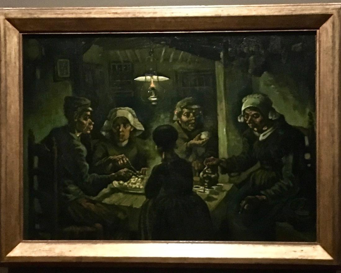 Vincent van Gogh Die Kartoffelesser Van-Gogh-Museum Amsterdam Niederlande