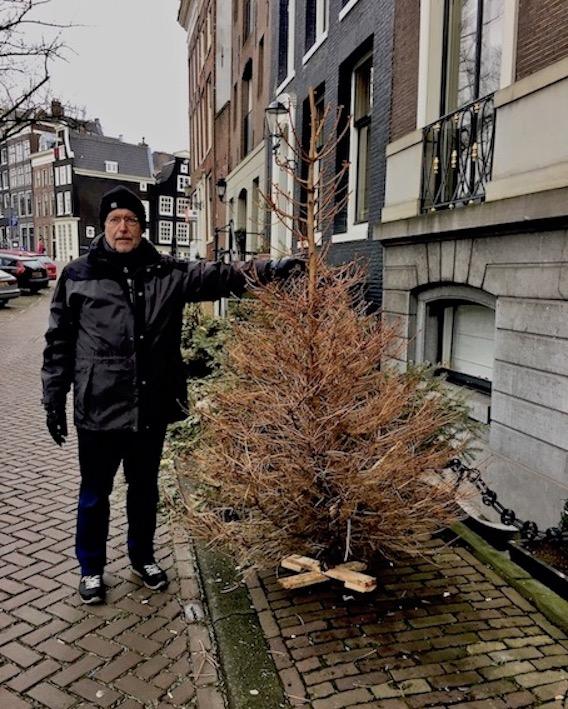 Weihnachtsbaum in Amsterdam