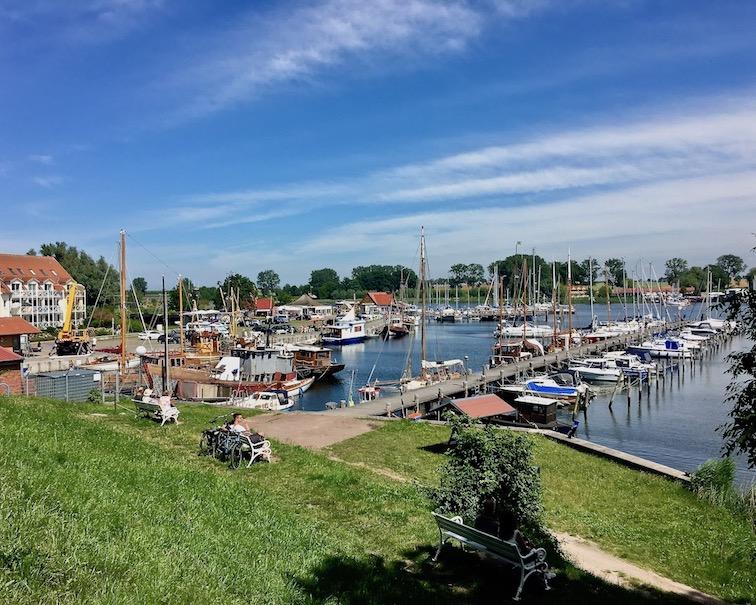 Blick von Festungswall Insel Poel Ostsee