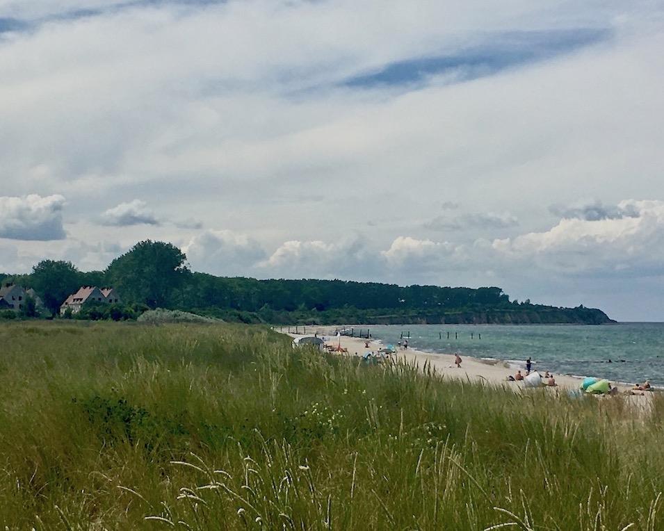 Düne mit Blick zur Halbinsel-Wustrow lost-place Ostseebad Rerik