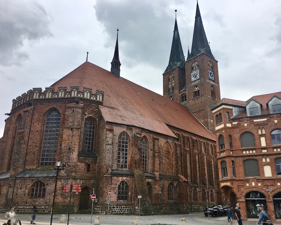 Dom St. Nikolaus Backsteingotik Stendal Sachsen-Anhalt