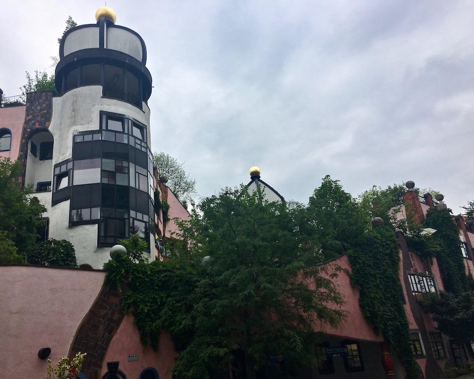 Grüne-Zitadelle Friedensreich-Hundertwasser-Haus Magdeburg