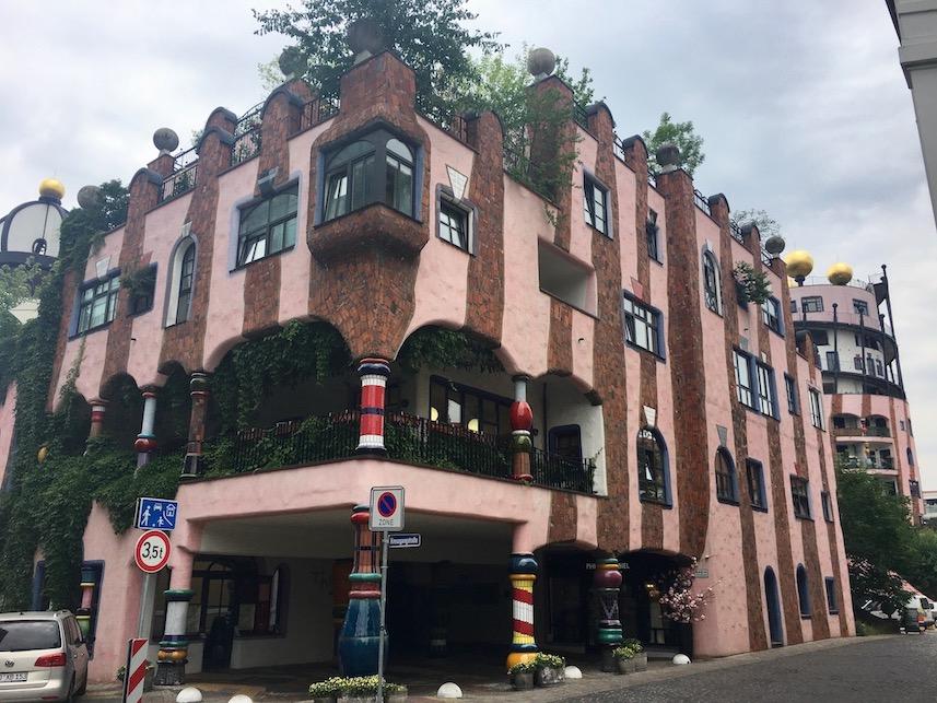Grüne-Zitadelle Magdeburg Friedensreich-Hundertwasser-Haus