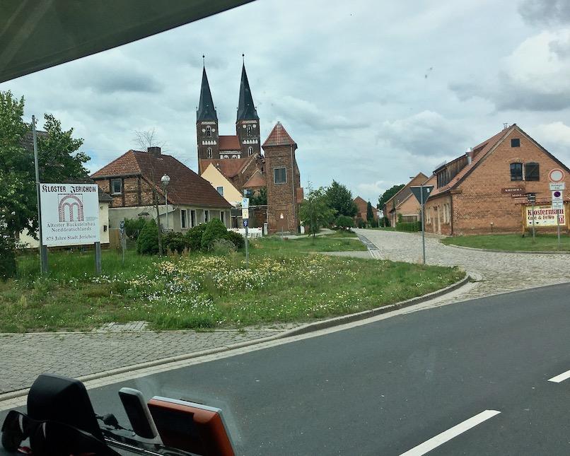 Jerichow in Sachsen-Anhalt Deutschland