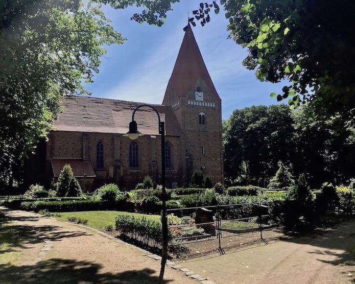 Kirche in Kirchdorf Insel Poel Ostsee