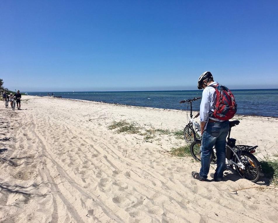 Ostseestrand Insel Poel ab hier nur noch Sand