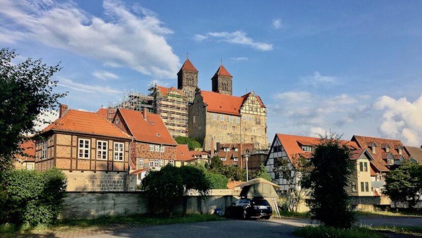 Quedlinburg Schloßberg UNESCO-Weltkulturerbe Deutschland