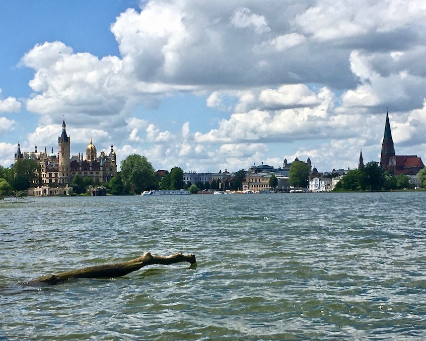 Schweriner-Schloss Schwerin Deutschland