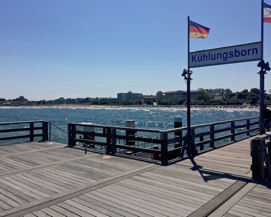 Seebrücke-Kühlungsborn an der Ostsee