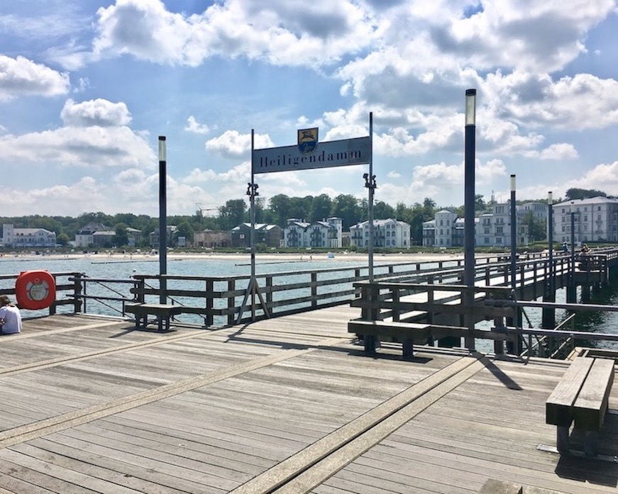 Seebrücke von Heiligendamm Ostsee