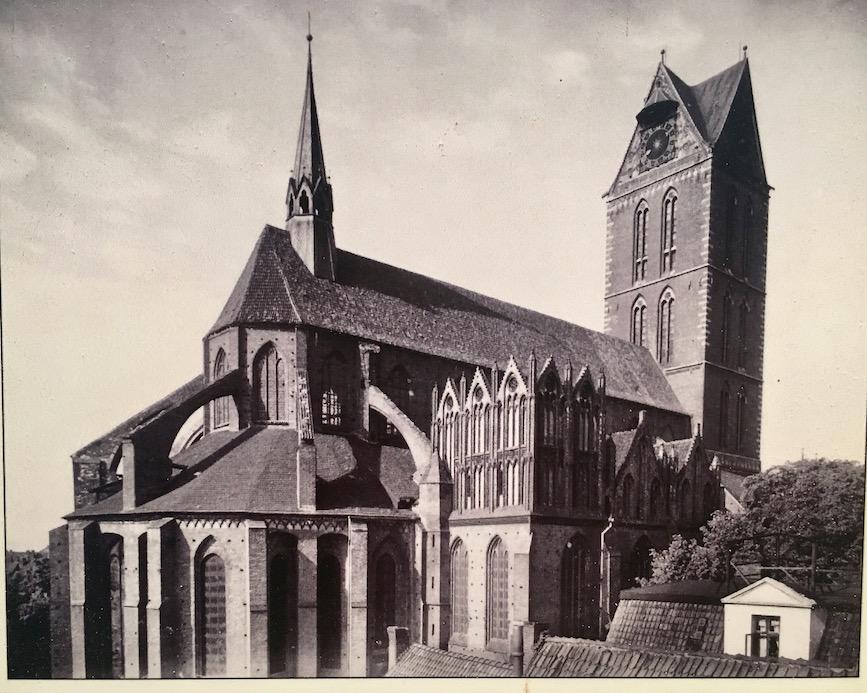 St.Marien zu Wismar Historische Aufnahme