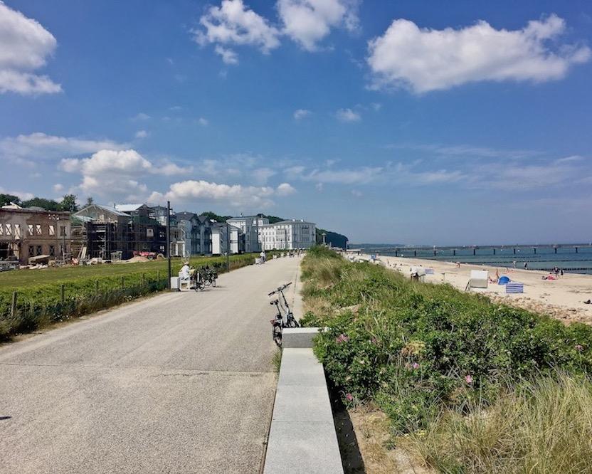 Strandprommenade Heiligendamm Ostsee