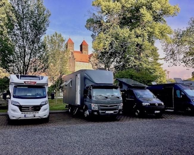Wohnmobil-Stellplatz mole-on-tour Schloßparkplatz Quedlinburg Deutschland