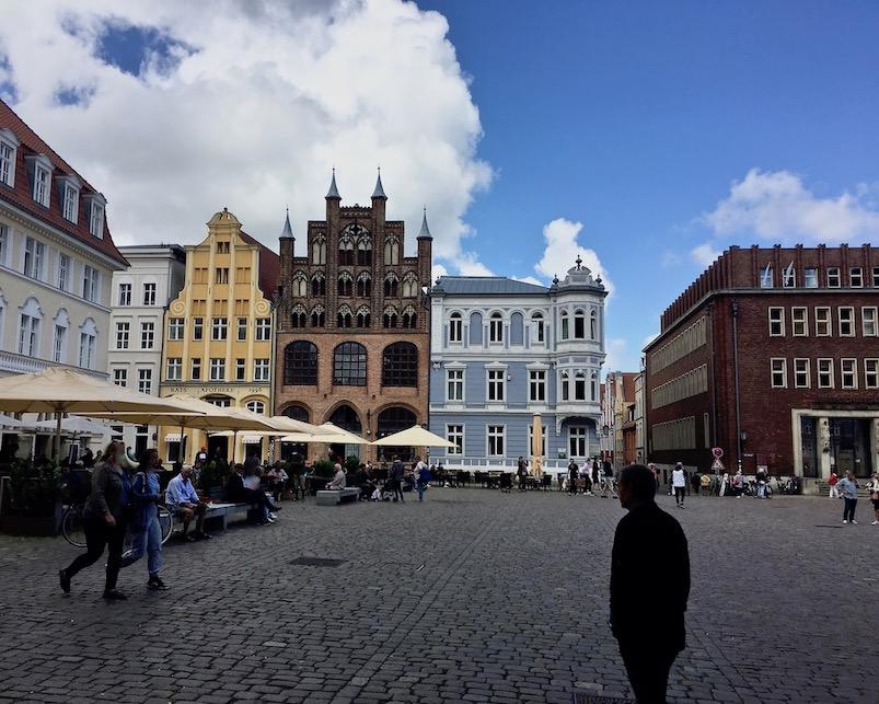 Alter Markt Stralsund UNESCO-Weltkulturerbe Stralsund Deutschland