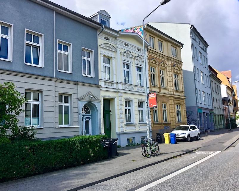 August-Bebel-Straße Rostock Deutschland
