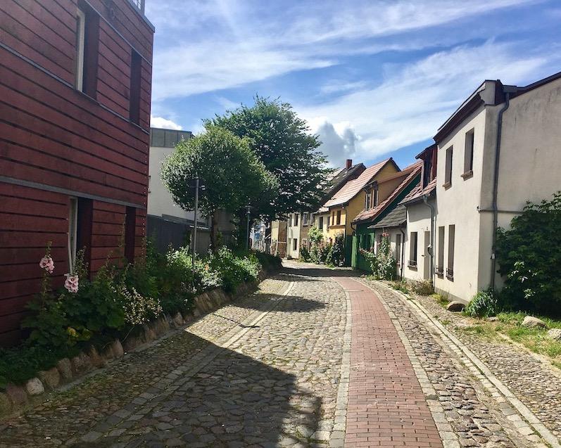 Barth Altstadt-Gassen Barth Deutschland