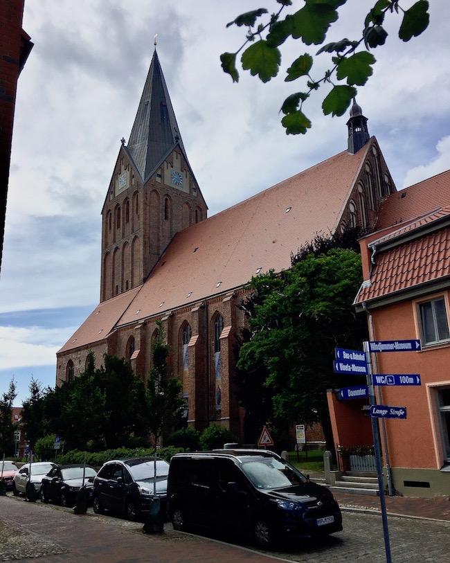 Barth St.Marien Kirche Barth Deutschland