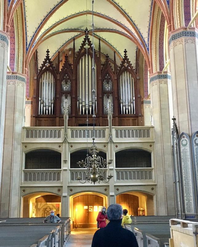 Barth St.Marien-Kirche Buchholz-Orgel Barth Deutschland