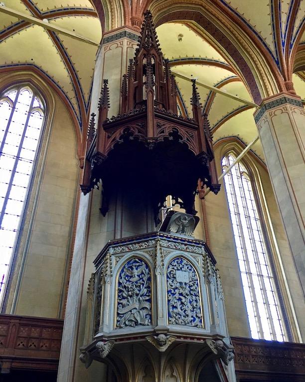 Barth St.Marien-Kirche Kanzel Barth Deutschland