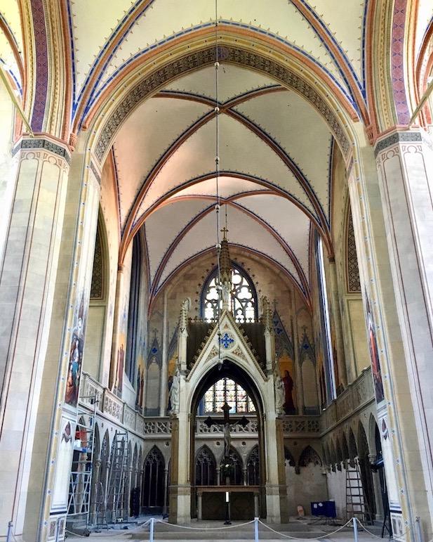 Barth St.Marien-Kirche Kirchenschiff Barth Deutschland