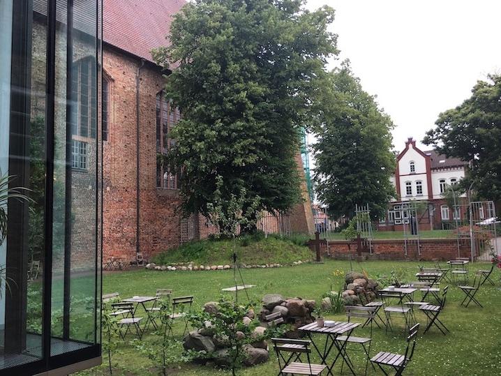 Deutsches Bernsteinmuseum Museumskaffee im Kloster