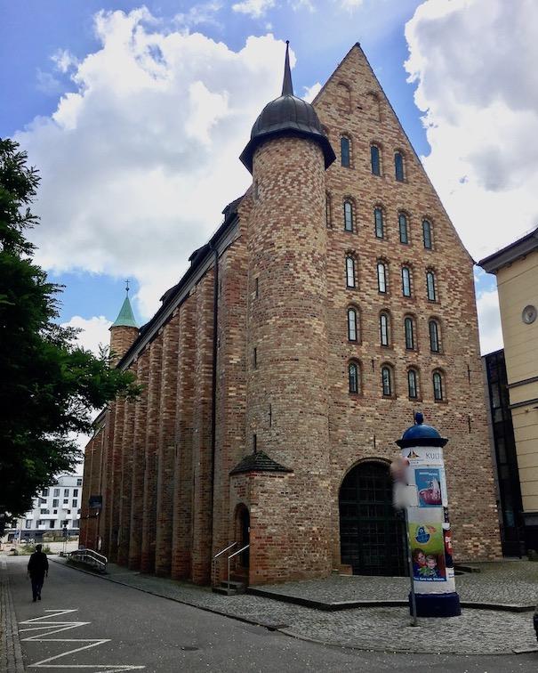 Ehem. Michaeliskirche Universitäts-Bibliothek Rostock Deutschland